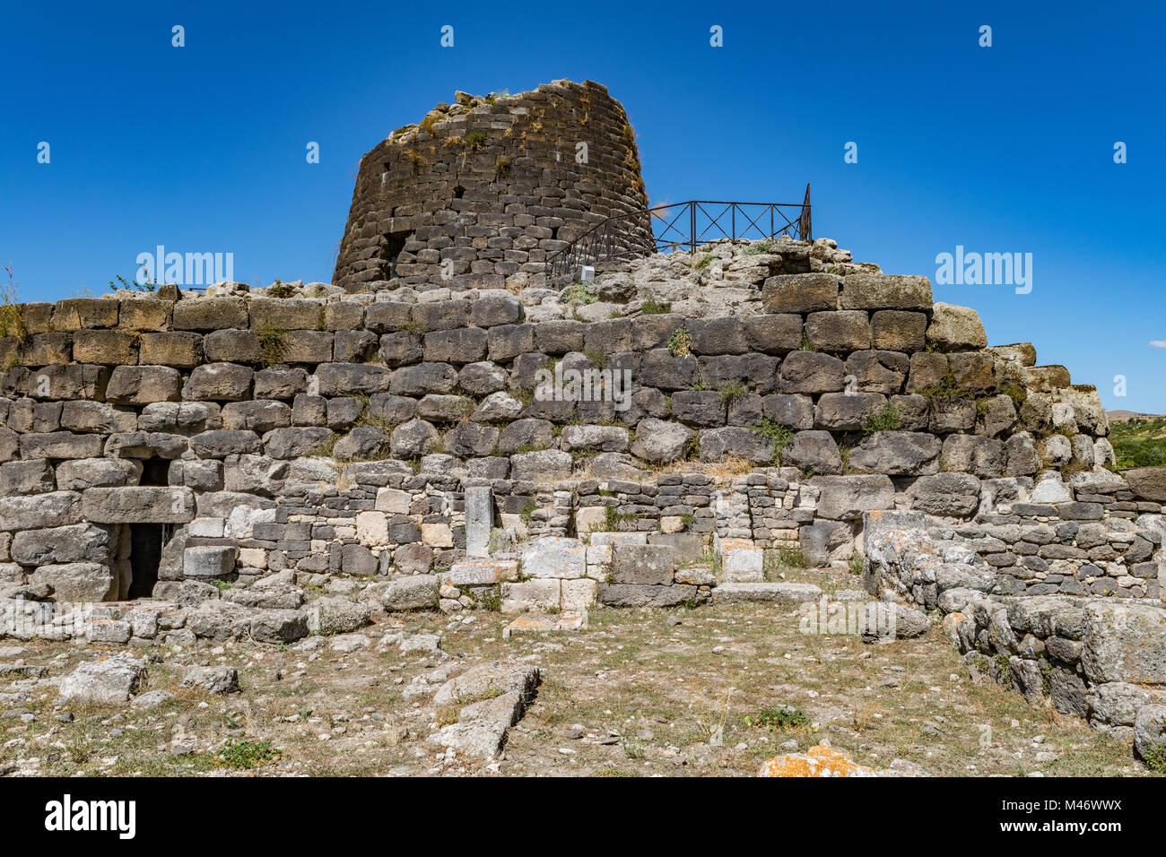Nuraghe di Santu Antine, Sassari, Torralba, Sardinia, Italy - Stock Image