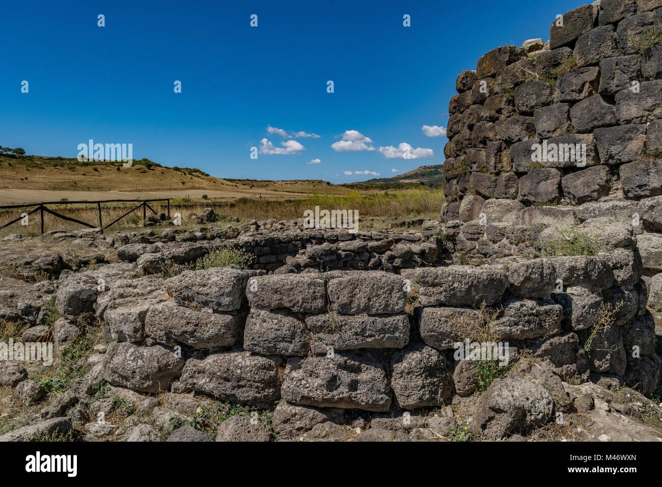 Nuraghe di Santu Antine, Torralba, Sardinia, Italy - Stock Image