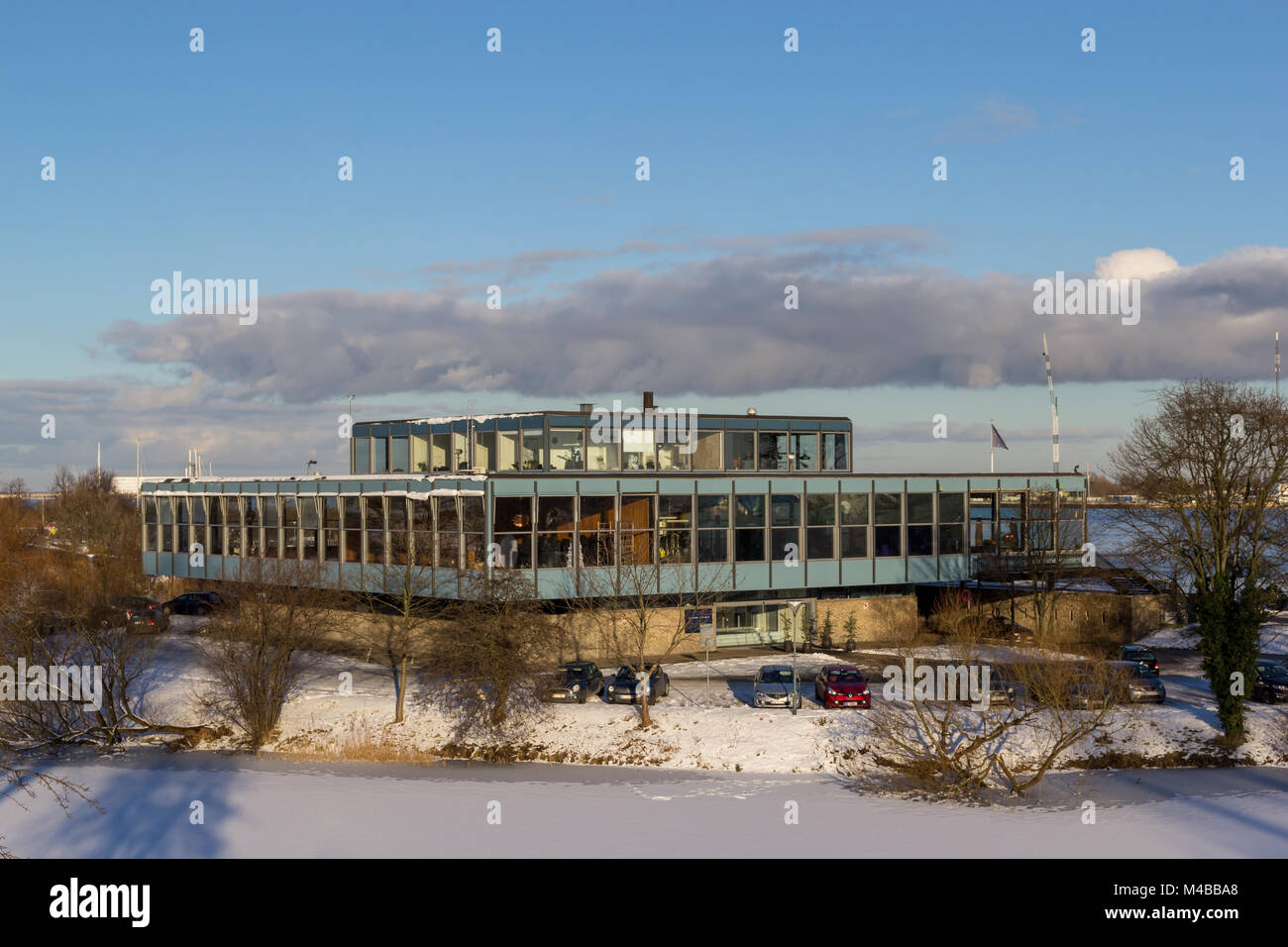 The Langelinie Pavilion at Kastellet, winter; Copenhagen, Denmark Stock Photo