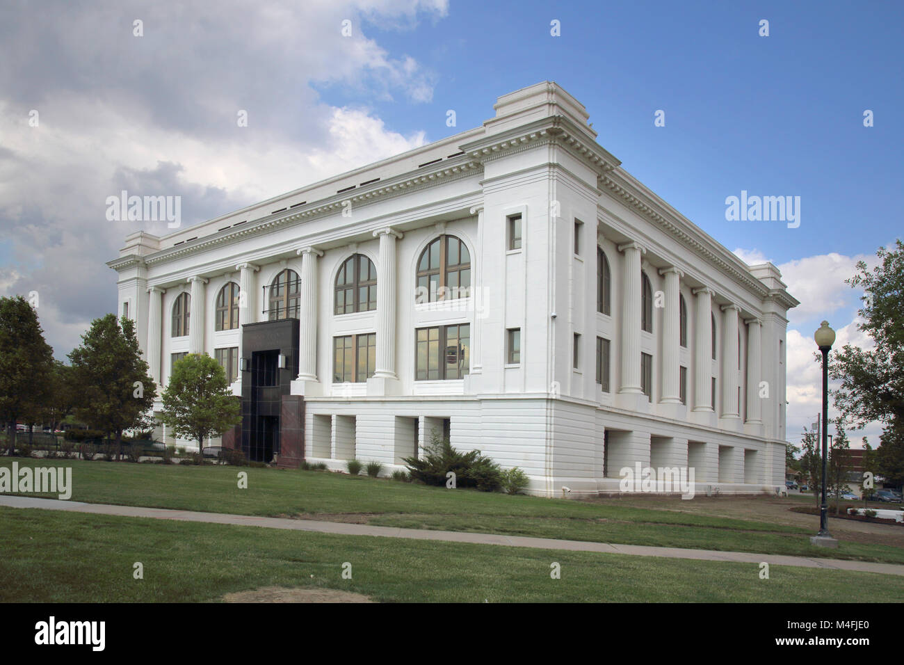 the courthouse in great bend kansas Stock Photo