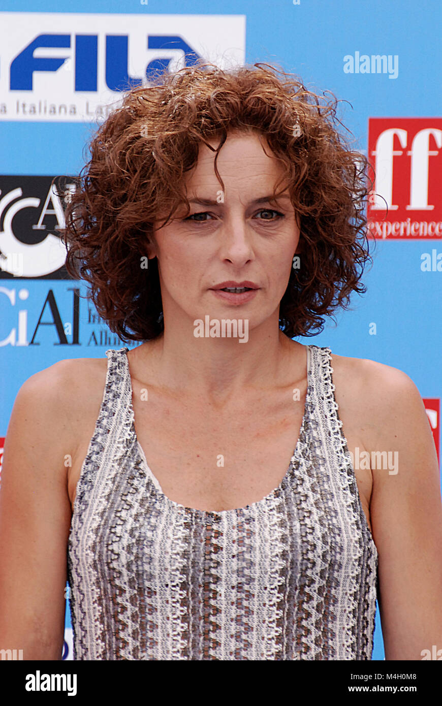 Giffoni Valle Piana, Sa, Italy - July 17, 2016 : Lidia Vitale at Giffoni Film Festival 2016 - on July 17, 2016 in - Stock Image