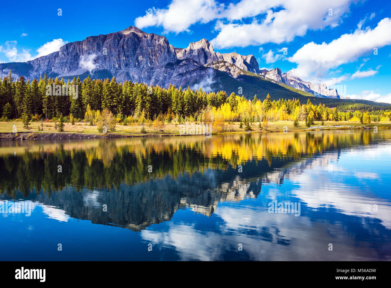 Canmore, near Banff - Stock Image
