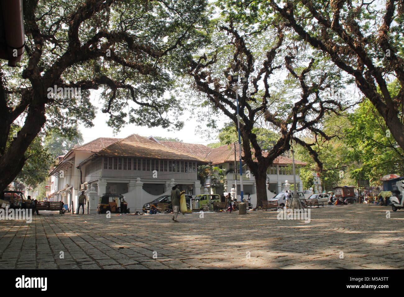 Streets of Fort Kochi, Kerala - Stock Image