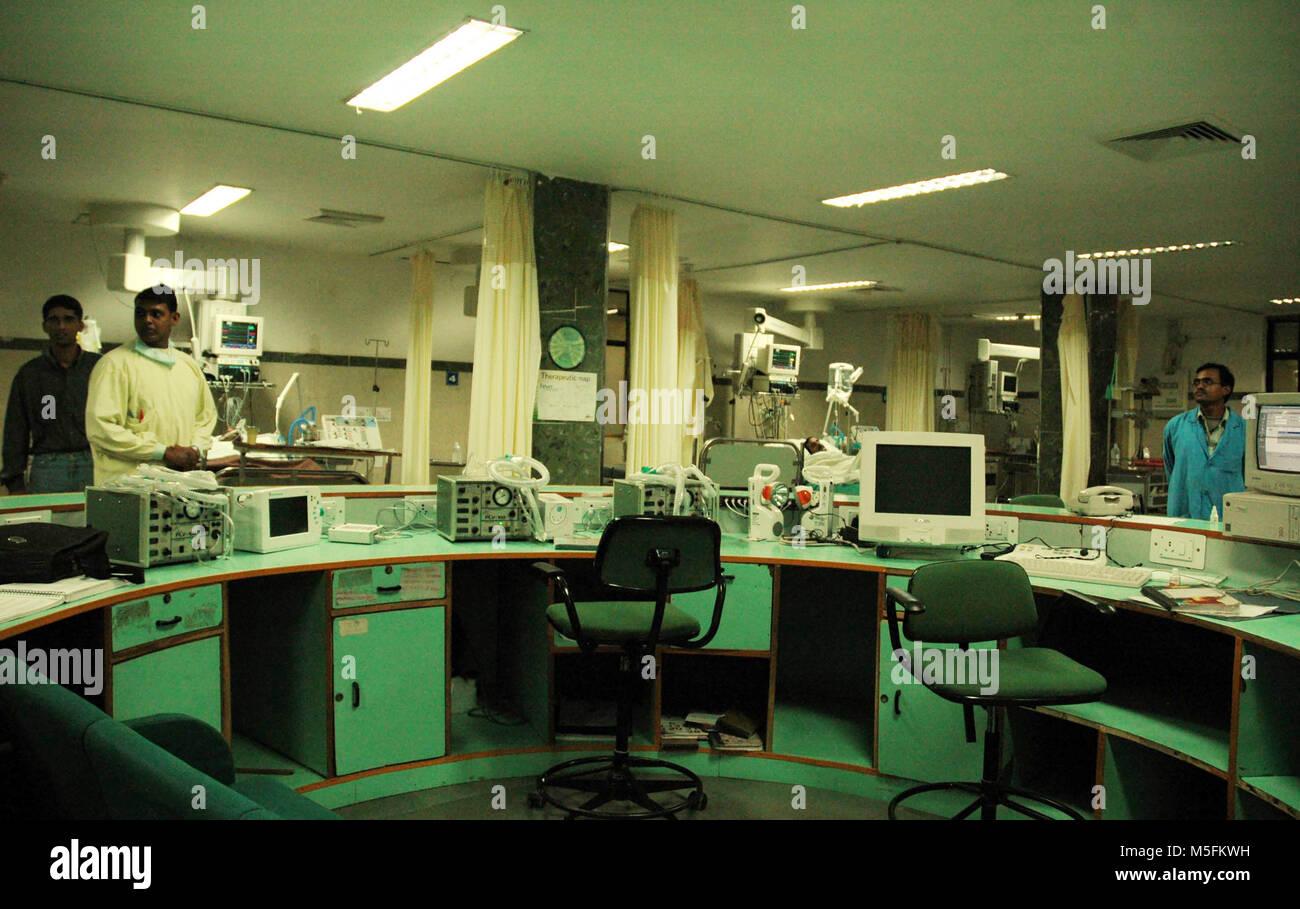 hospital, union carbide gas leak tragedy, bhopal, madhya pradesh, India, Asia - Stock Image