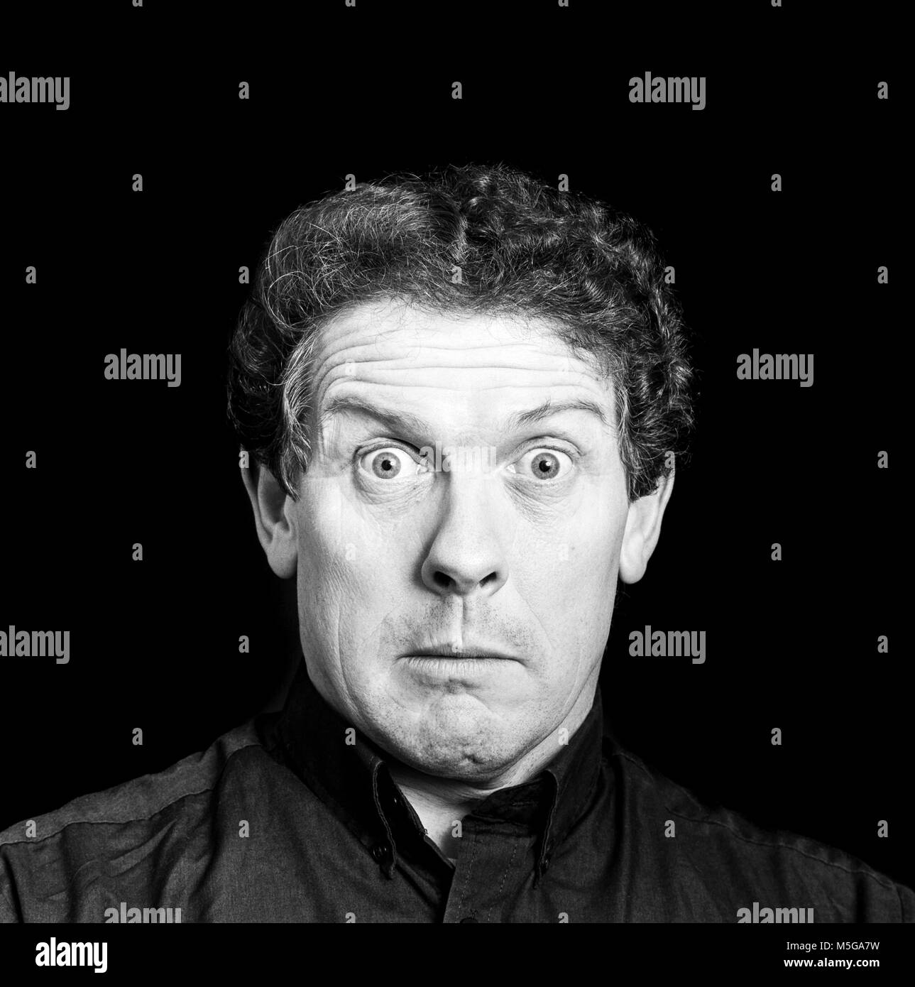 Phil Cool, Philip Martin, English comedian, impressionist and musician. He starred in his television own TV series Stock Photo