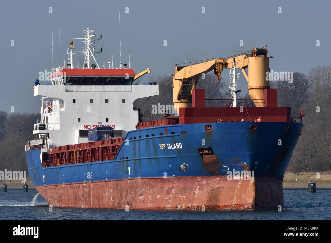 NBP Island - Stock Image