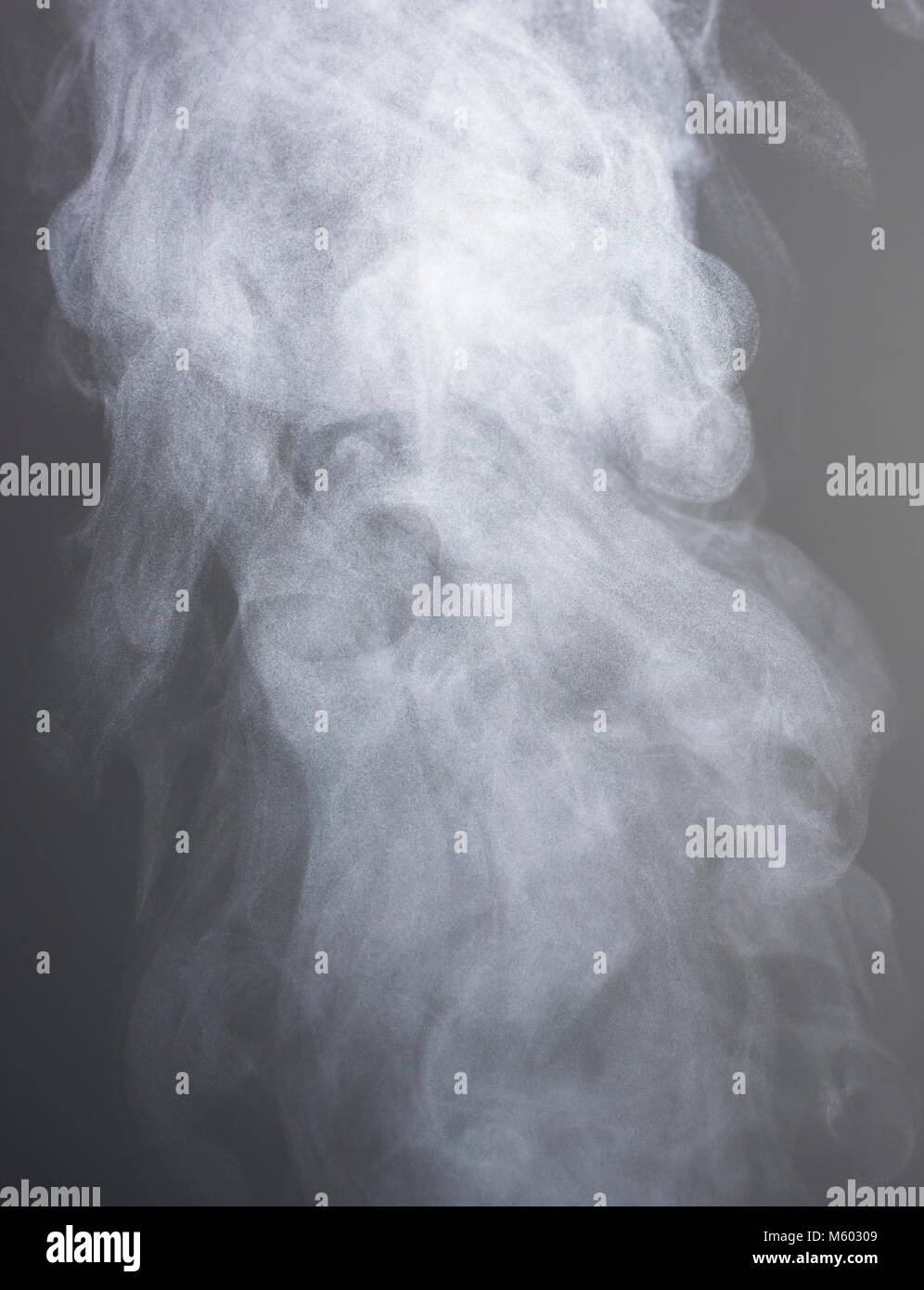 Steam rising from boiling water, London, UK - Stock Image