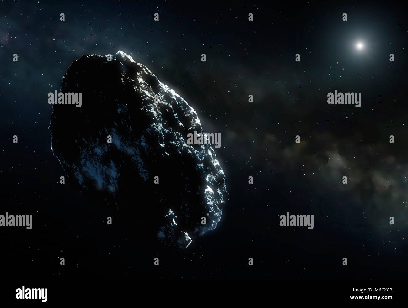 Asteroid belt stock photos asteroid belt stock images alamy artwork of an asteroid even in the main belt the asteroid density is very low pooptronica Images