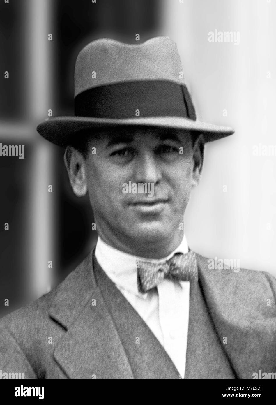Rube Goldberg (1883-1970), portrait of the American cartoonist, sculptor, author, engineer, and inventor. Photograph - Stock Image
