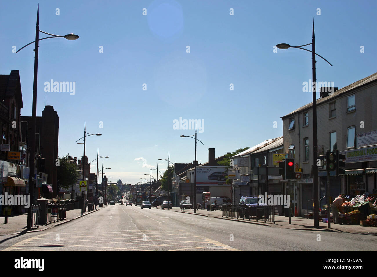 Soho Road, Birmingham - Stock Image