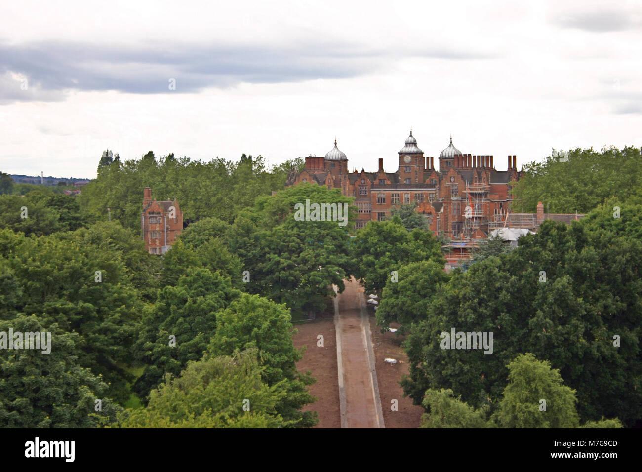 Aston Hall, Jacobean mansion, Birmingham - Stock Image