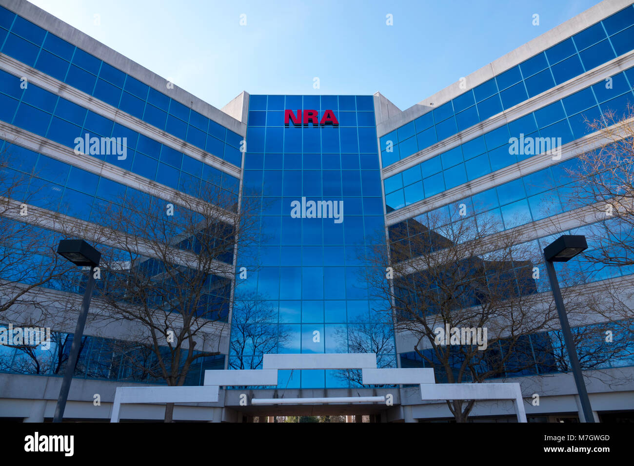 nra-national-rifle-association-headquarters-in-fairfax-virginia-va-M7GWGD.jpg