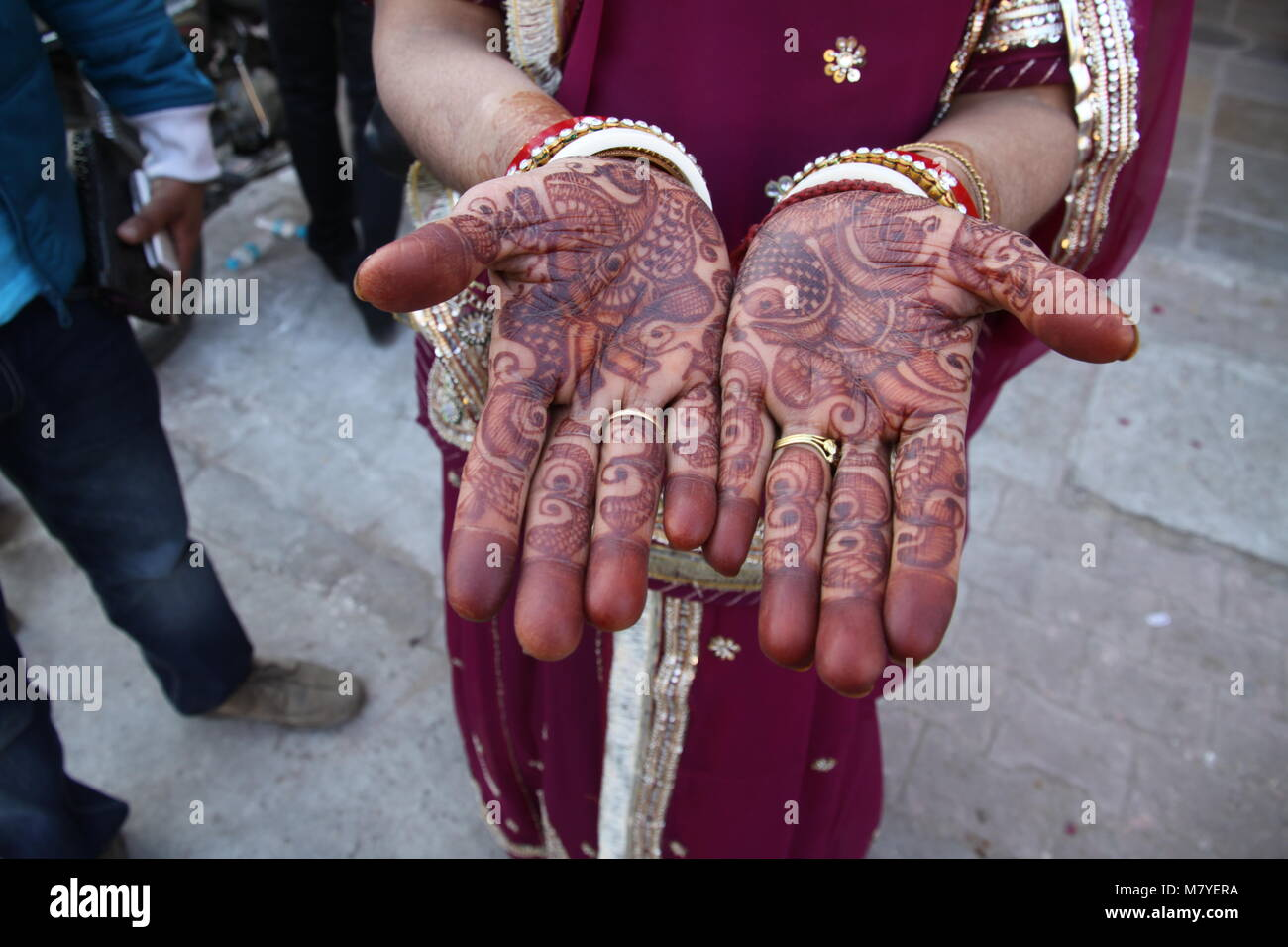 Henna Or Mehndi : Henna or mehndi decorations for weddings and other celebrations