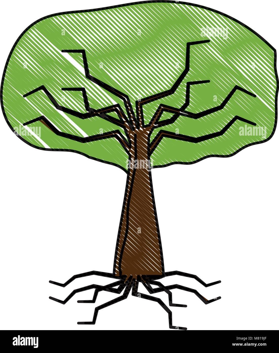 Tree Root Illustration Stock Photos & Tree Root Illustration Stock ...