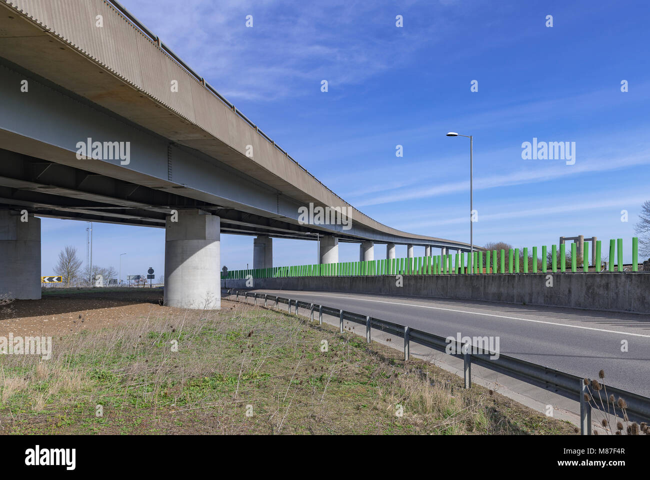isle-of-sheppy-roadbridge-kent-uk-M87F4R