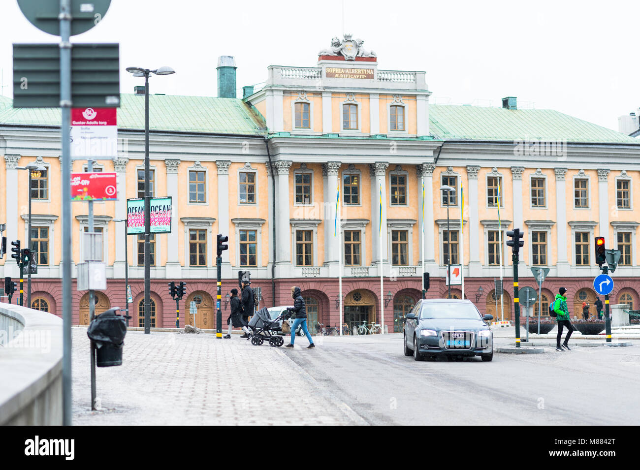 Stockholm, Sweden, March 15, 2018. Ministry for Foreign Affairs. - Stock Image