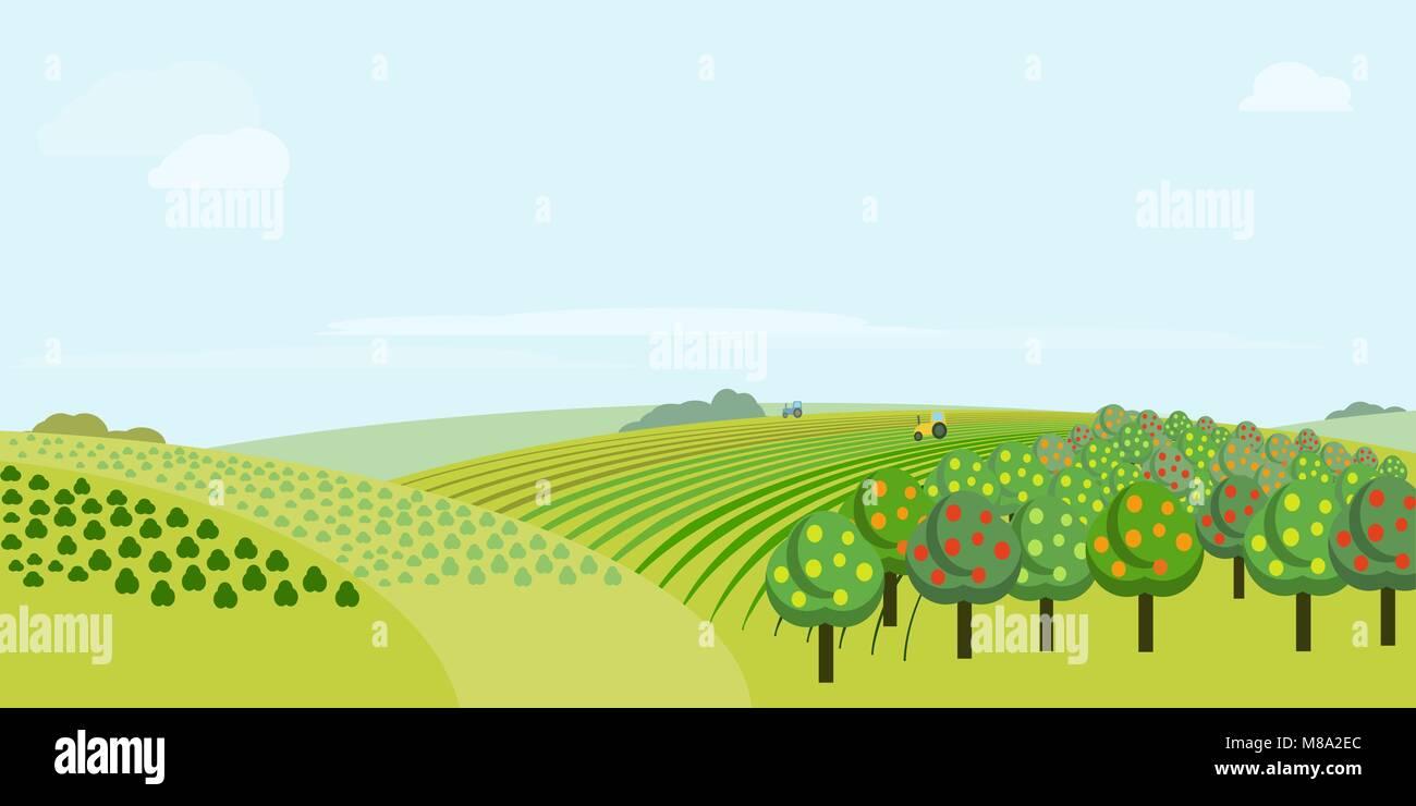 Farm House Stock Vector Images - Alamy for Animated Farm Field  55nar