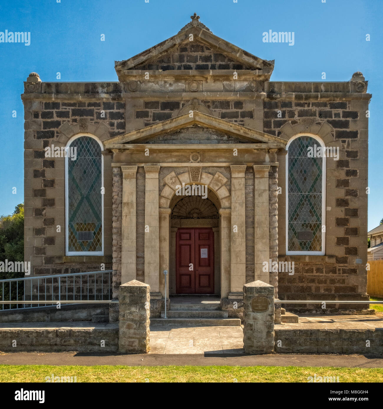 Port Fairy Uniting Church, Port Fairy, Victoria, Australia - Stock Image