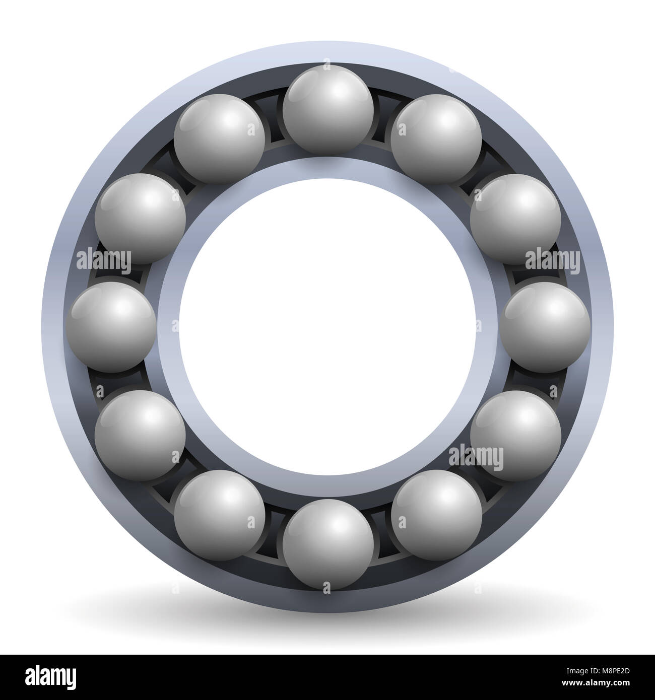 Rolling bearing. Iron balls in a metal wheel. Schematic model Stock on simple schematic diagram, ups battery diagram, circuit diagram, as is to be diagram, ic schematic diagram, layout diagram, a schematic circuit, template diagram, a schematic drawing,