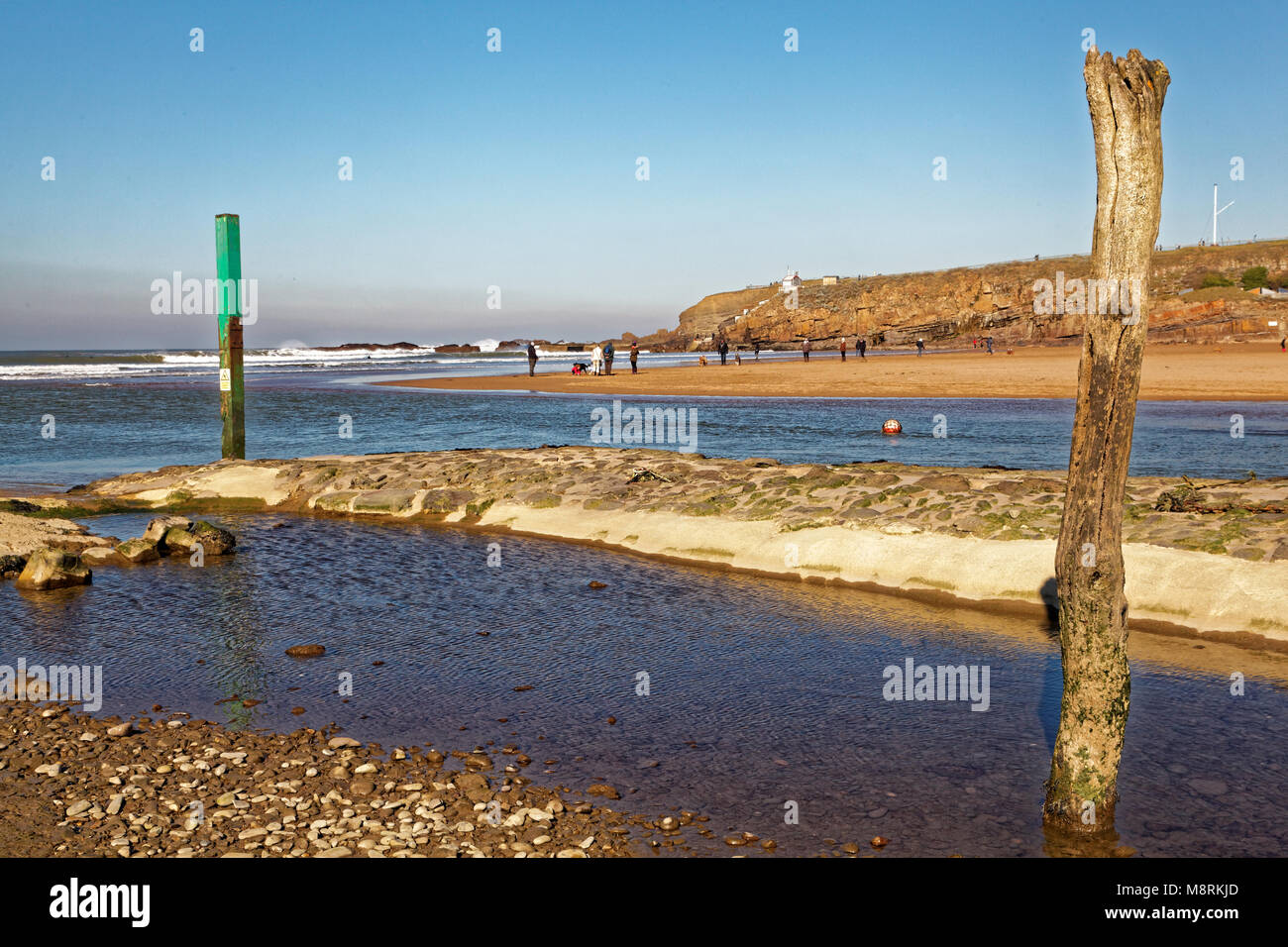 Bude Harbour, Cornwall, UK - Stock Image