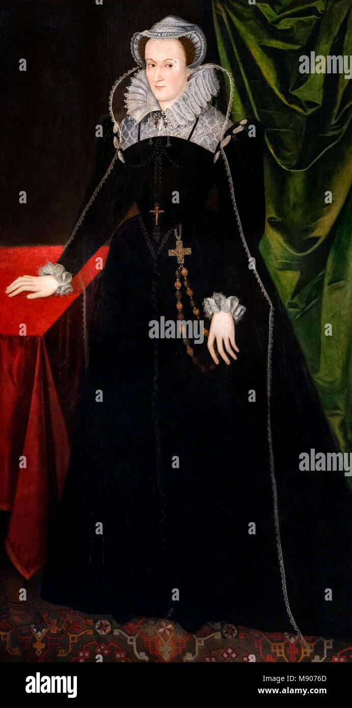 Mary Queen of Scots (1542-1587), c.1578. - Stock Image