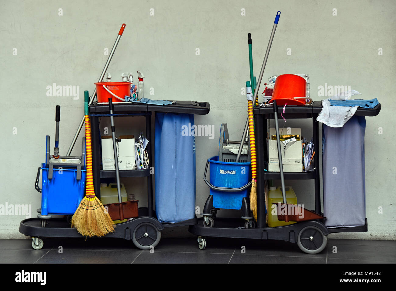 Cleaning Implements - Stock Image