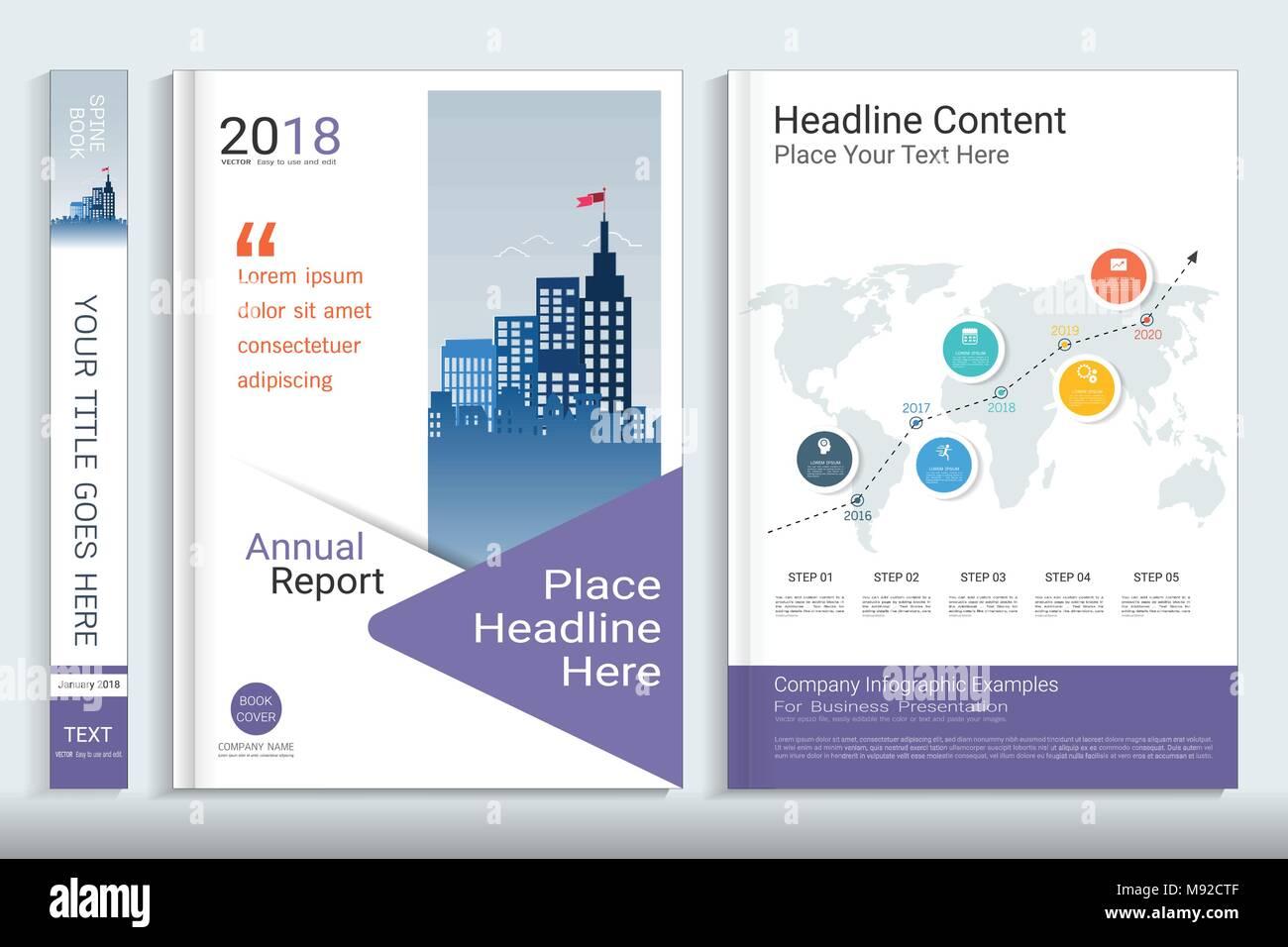 Company Profile Template Cover Design Stock Photos & Company Profile ...
