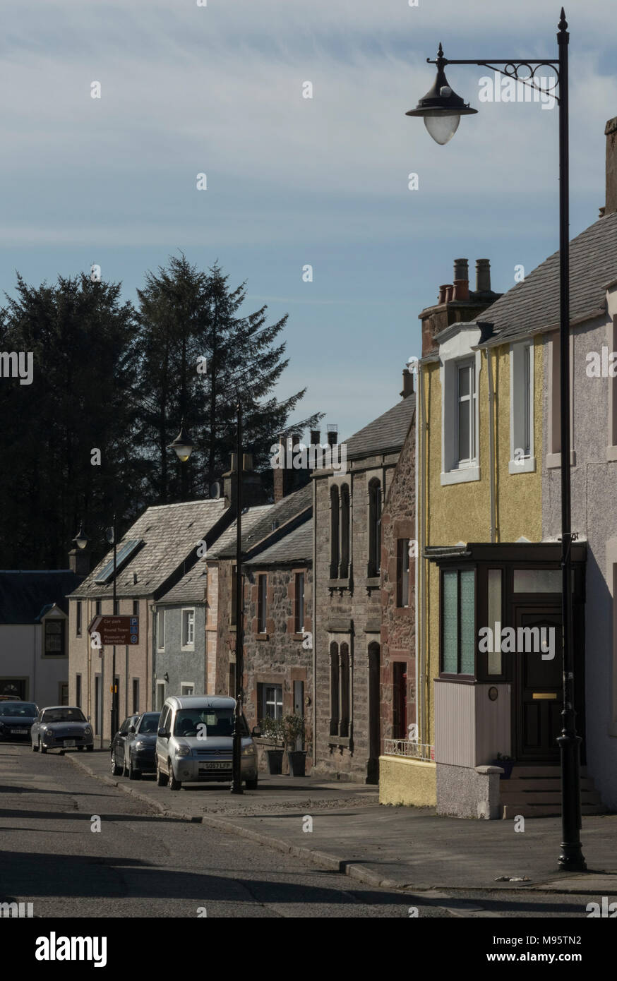 traditional housing styles in the historic village of abernethy