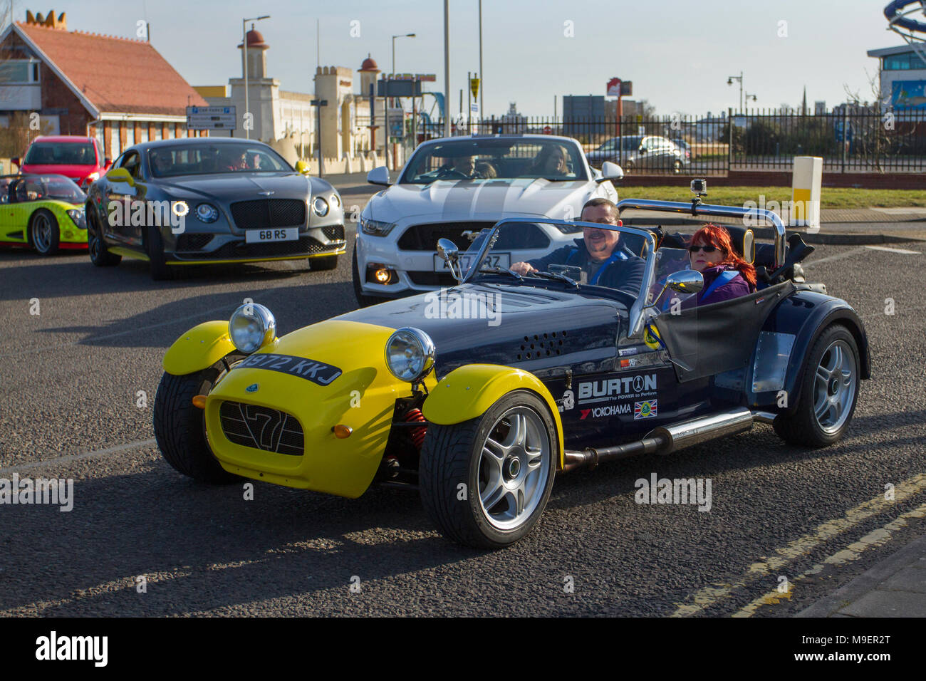 westfield sportscars at southport, merseyside, uk 25th march 2018