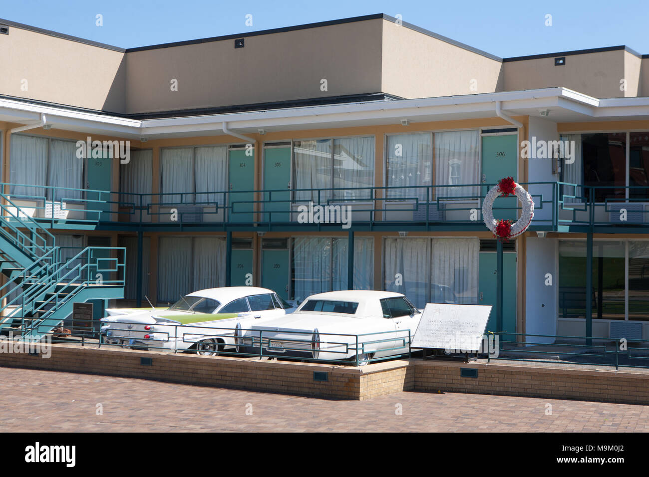 National Civil Rights Museum Located In The Old Lorraine Motel Site