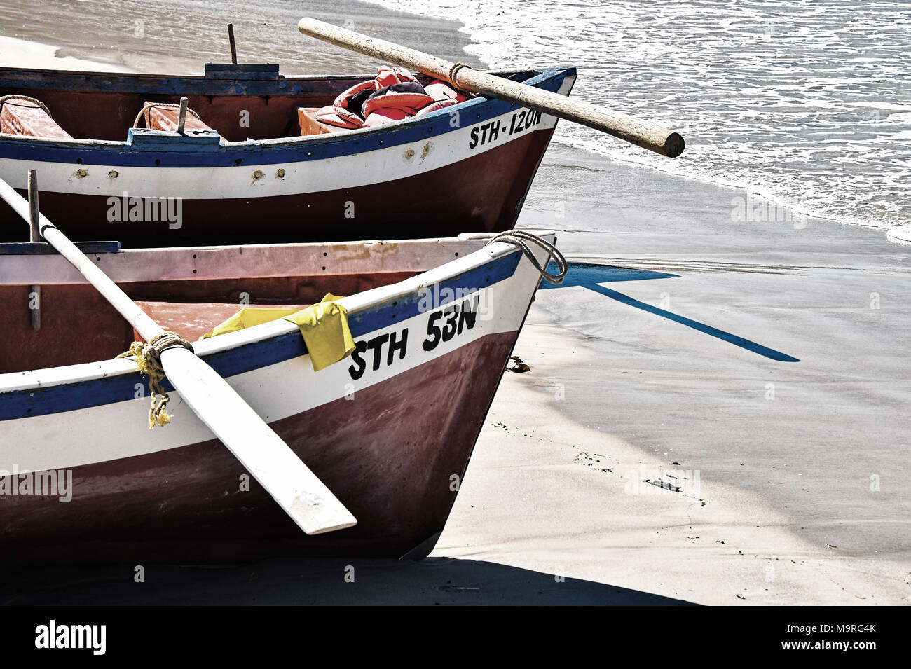 Going Fishing - Stock Image