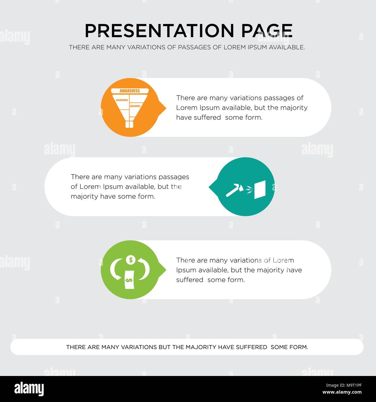 cashback durable marketing funnel presentation design template in