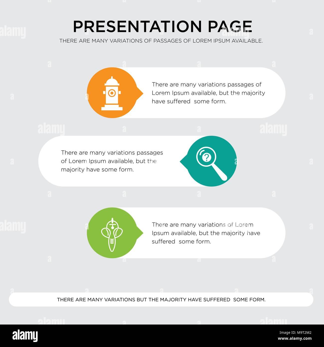 ganesh inquiry fire hydrant presentation design template in orange