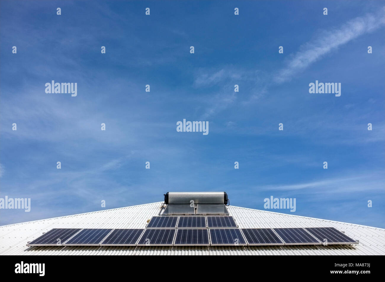 solar-panels-and-hot-water-system-on-a-c