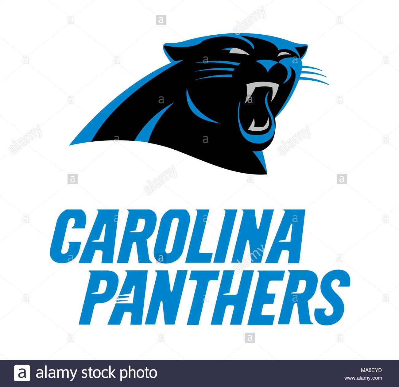 Carolina Panthers Logo Icon Stock Photo 178437601 Alamy
