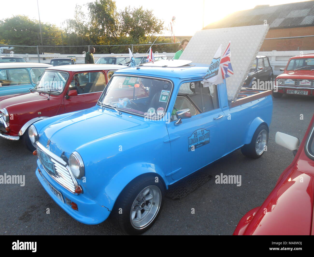 Mini of the 1960's - Stock Image