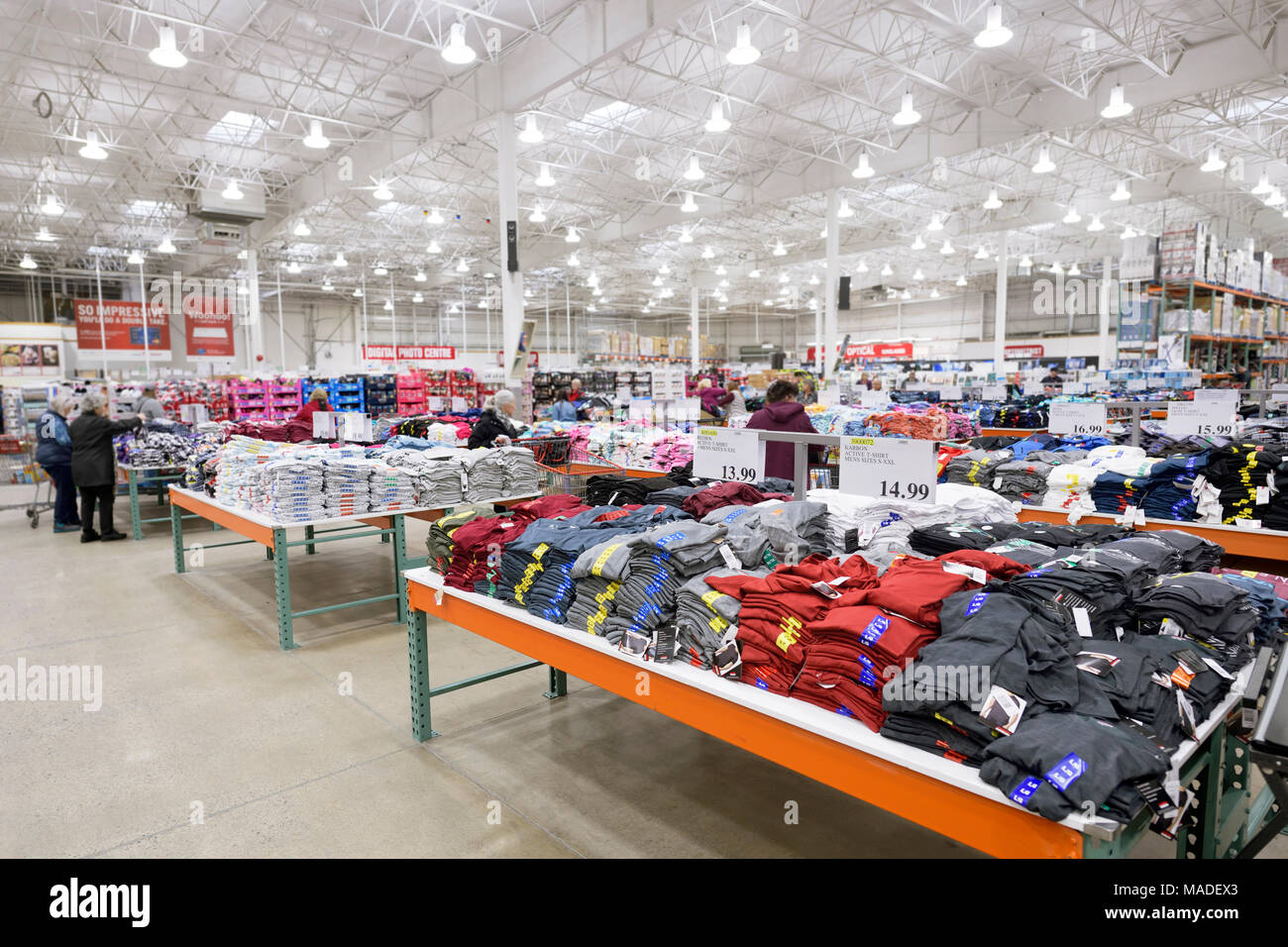 Costco Wholesale Corporation is a warehouse club offering a wide selection of brand name merchandise at discounted prices both through its website and through no-frills membership-only warehouse outlets.