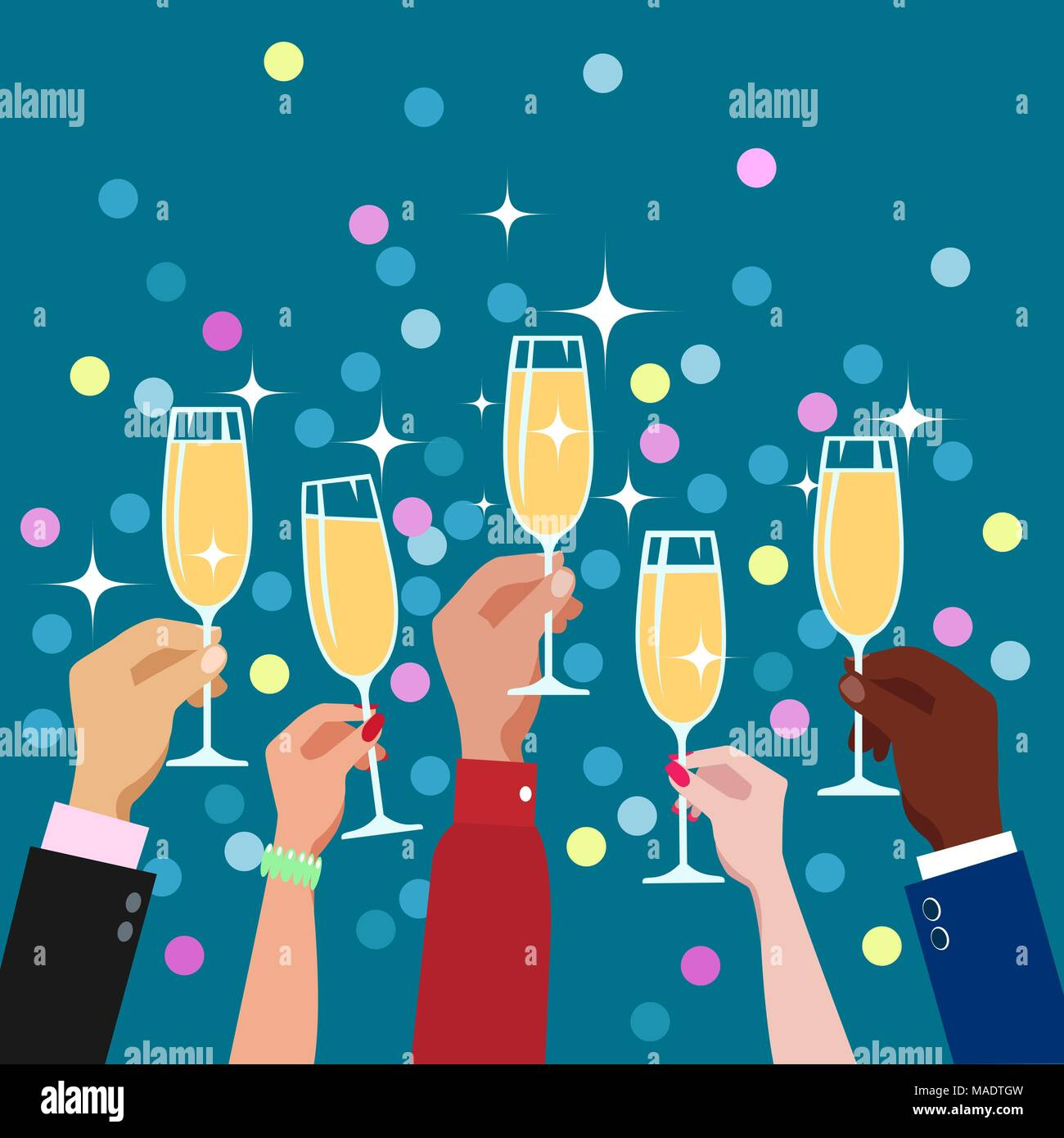 Congratulations, toasts: a selection of news