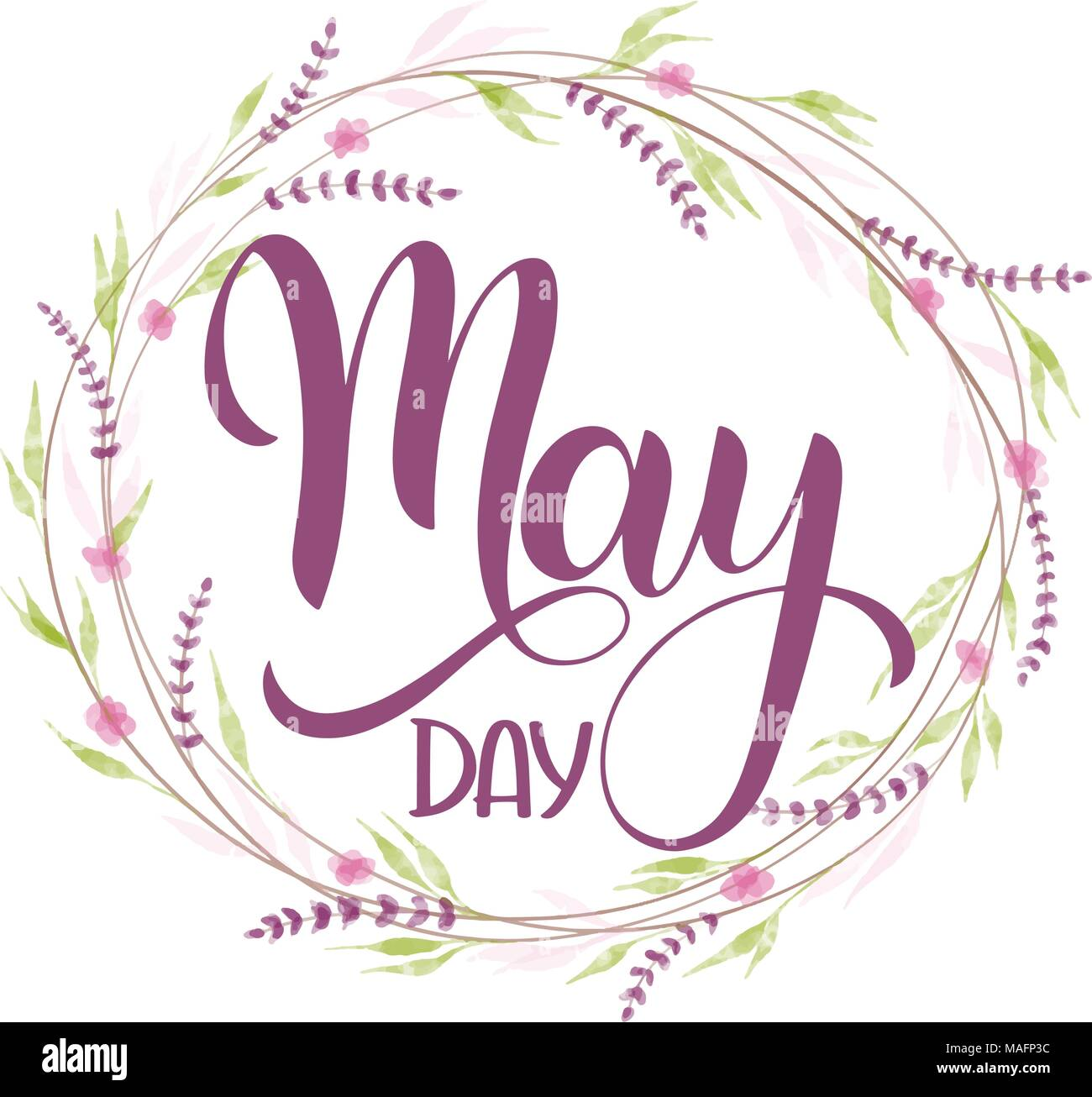 Seasons greeting stock photos seasons greeting stock images alamy hello may lettering elements for invitations posters greeting cards seasons greetings kristyandbryce Images