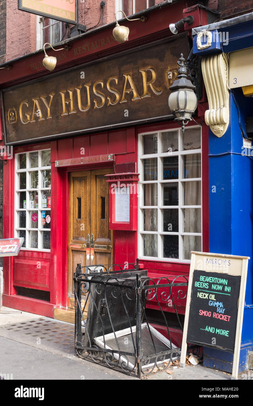 from Easton gay hussar resterant london england