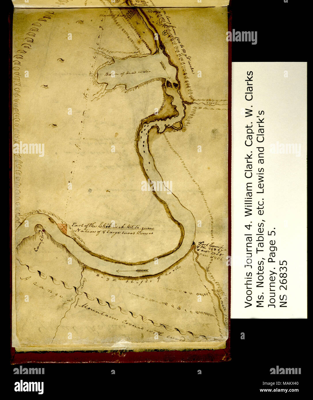 No 3 A Sketch Of The Long And Short Narrows Of The Columbia Top