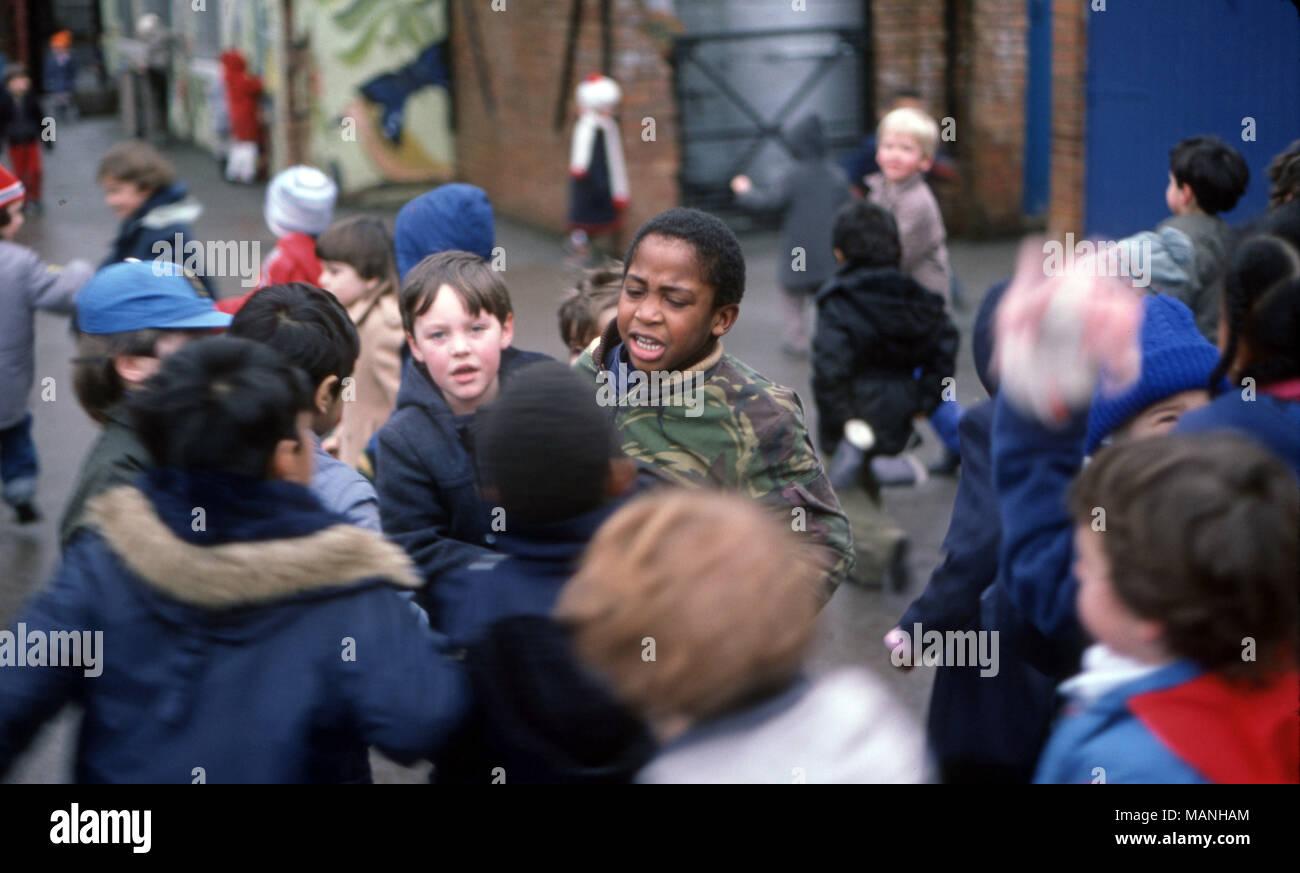 Primary school bullying - Stock Image