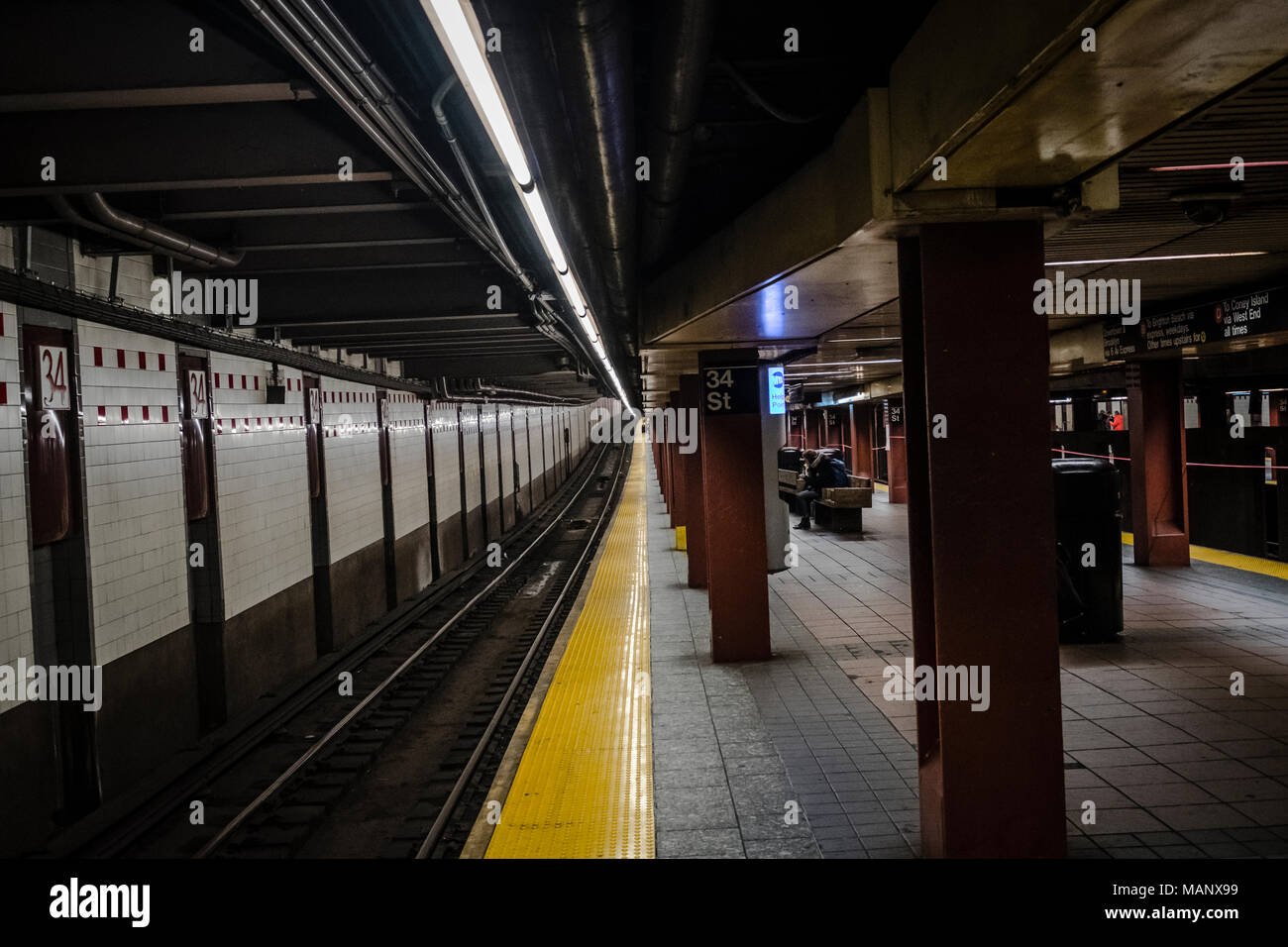 Metro New York - the longest subway system in the world