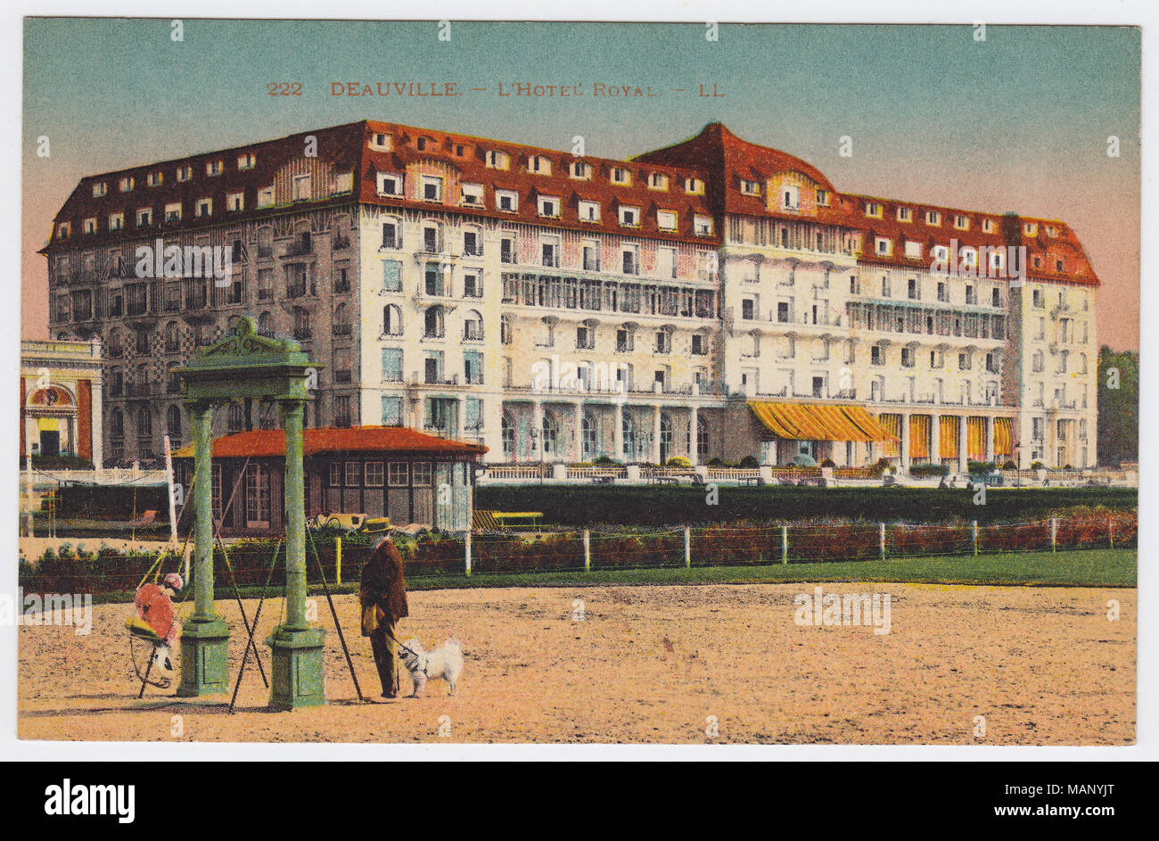 Royal Hôtel, Deauville, France - Stock Image
