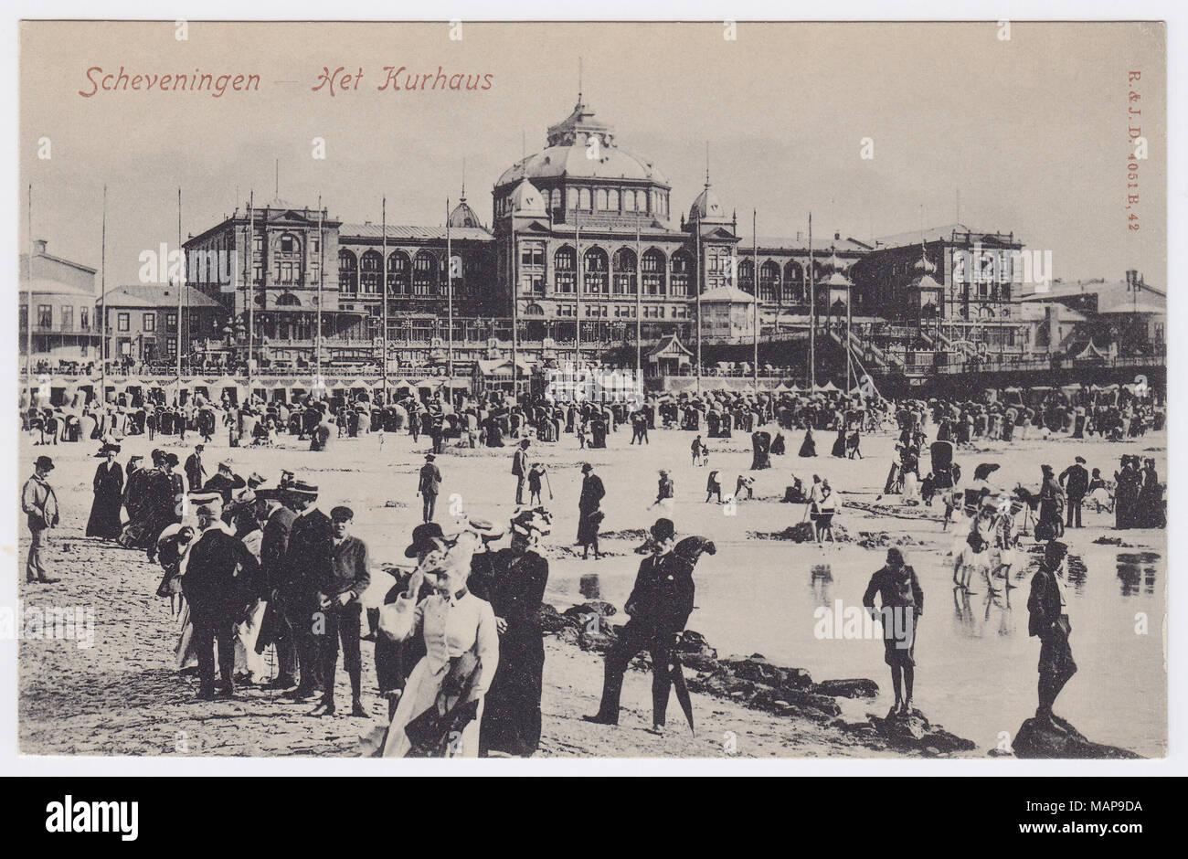 Kurhaus, Scheveningen, Netherlands - Stock Image