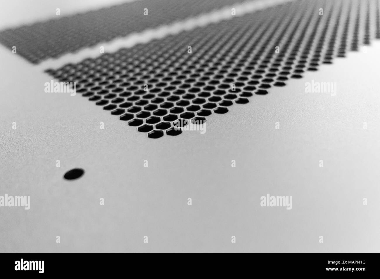Computer Vent Holes : Vent holes stock photos images alamy