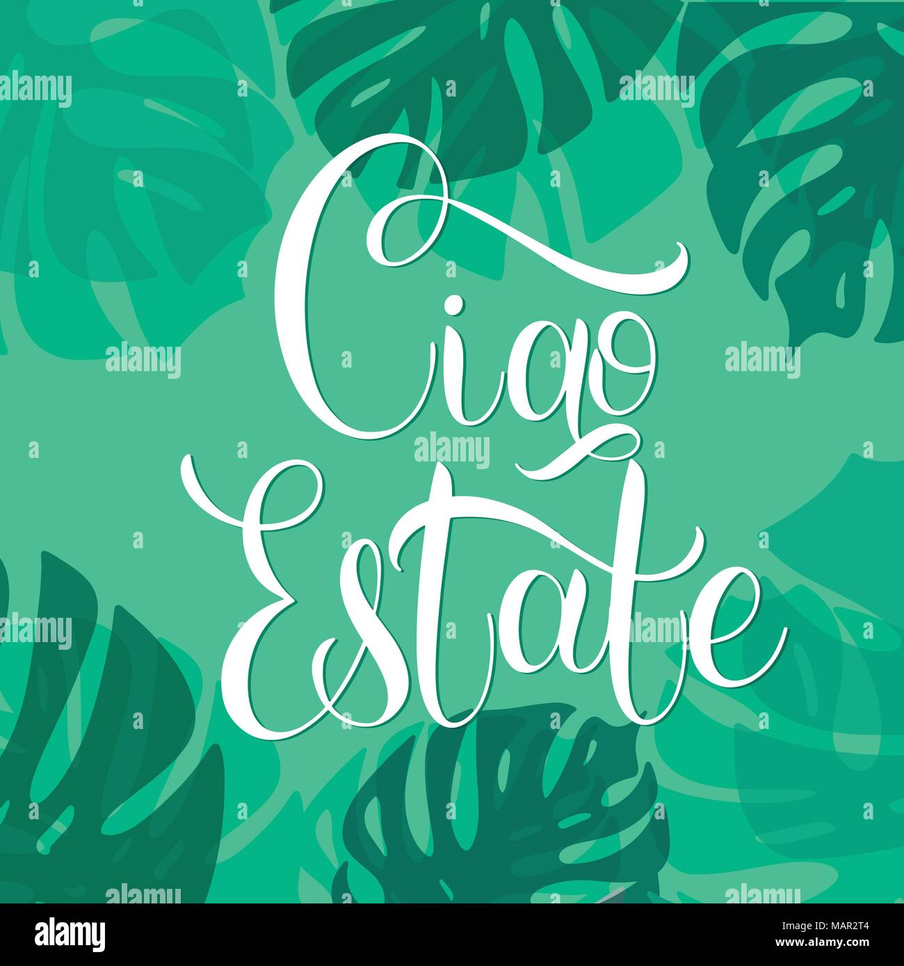 Ciao estate hello summer lettering on italian elements for hello summer lettering on italian elements for invitations posters greeting cards seasons greetings m4hsunfo