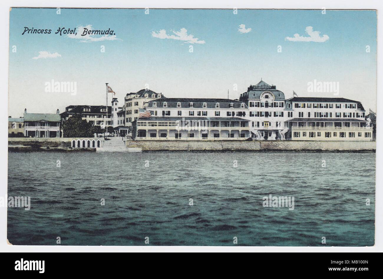 Princess Hotel, Hamilton, Bermuda - Stock Image