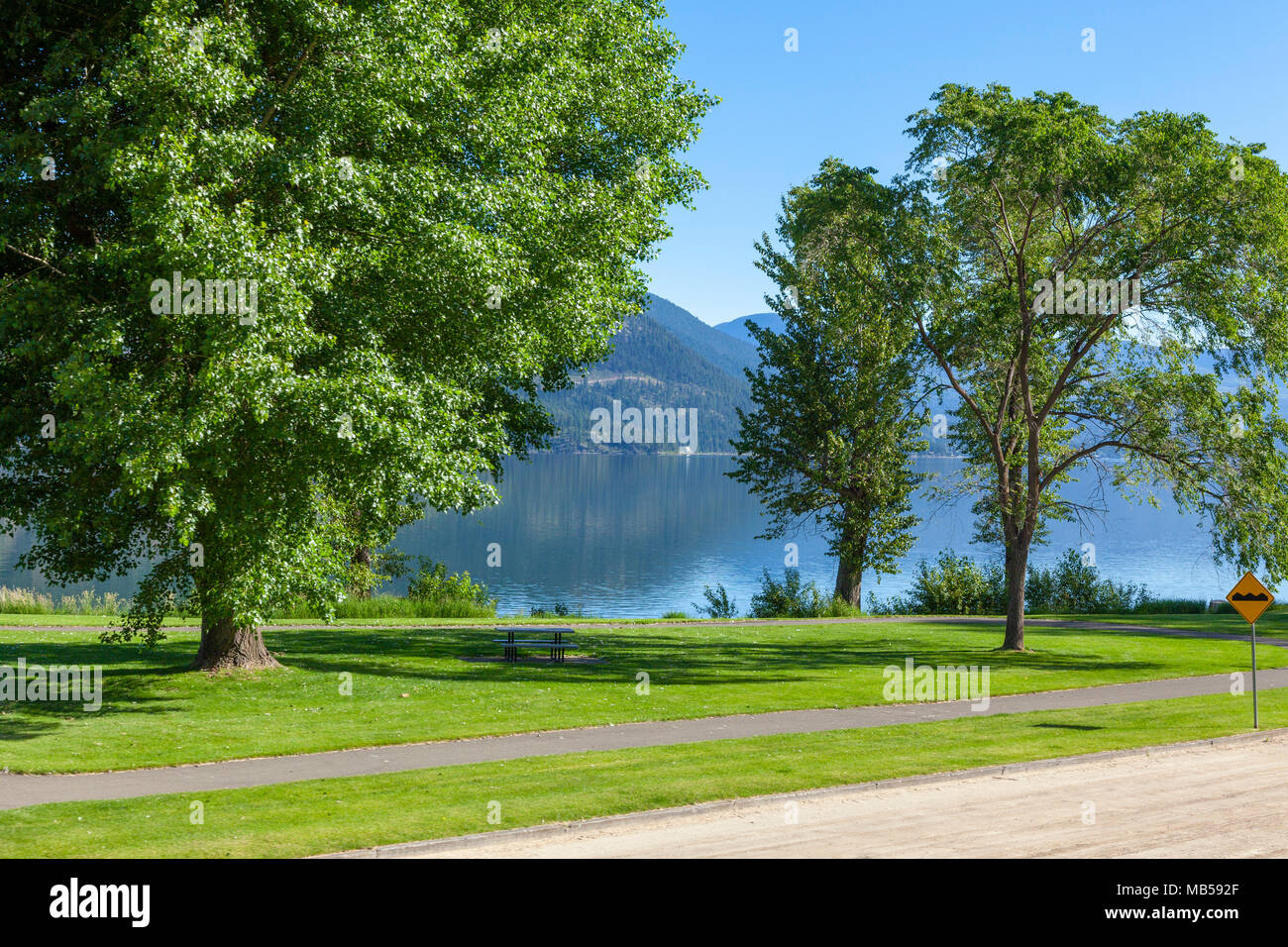 Scenic British Columbia, Canada - Stock Image