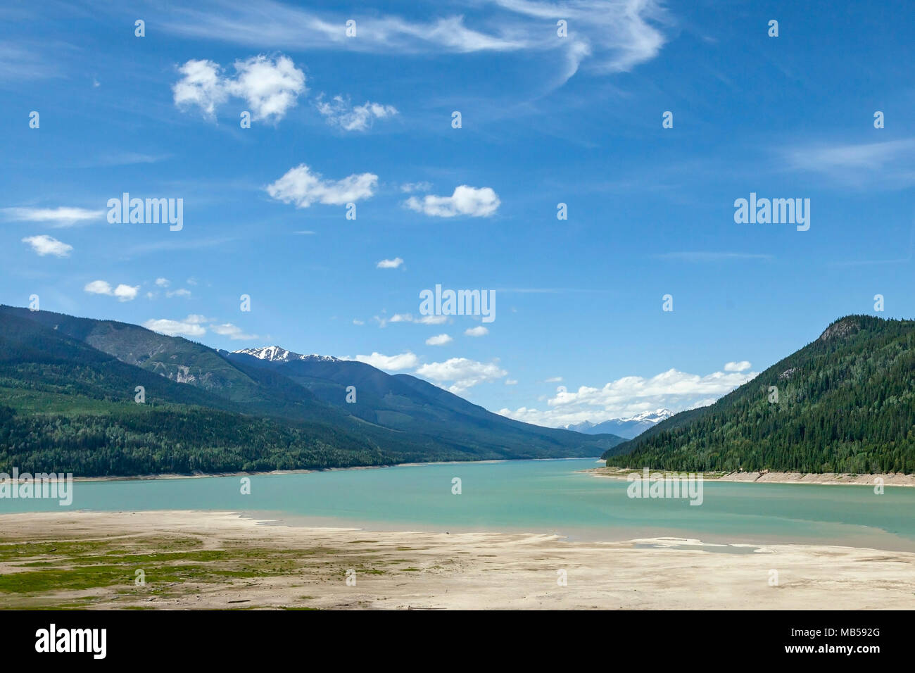 Bow River, Canada - Stock Image